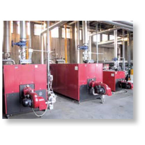 Heating plants