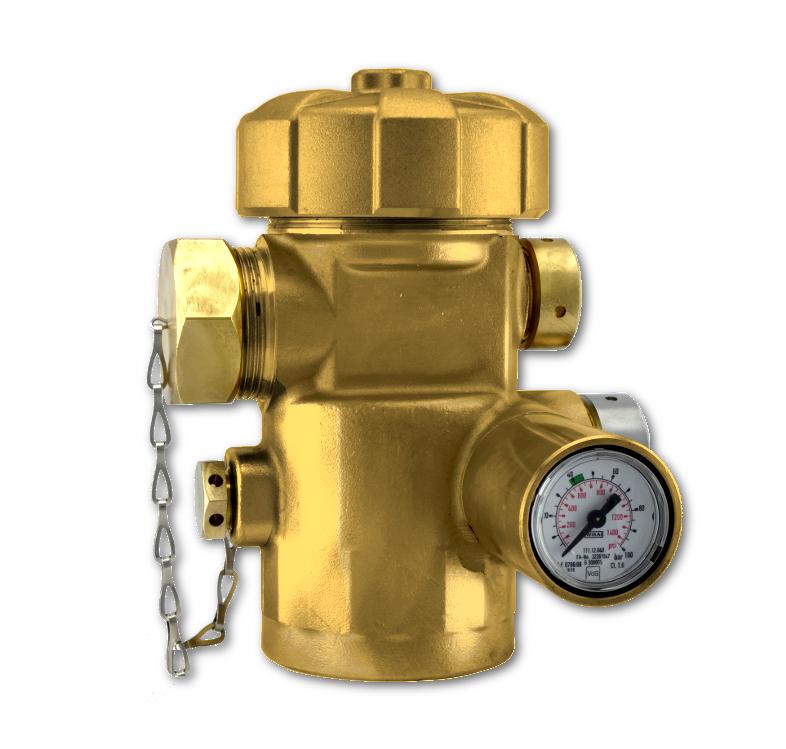 Valves for HFC-NOVEC1230-FM200 fixed extinguisher