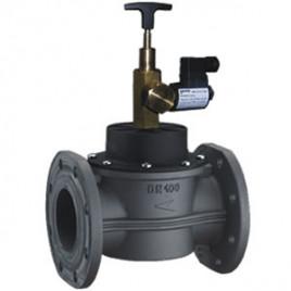 GAS SOLENOID VALVES N.O. 550 mbar  Dimensions DN65 – DN100