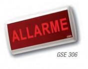 GSE306 Pannello di segnalazione IP40