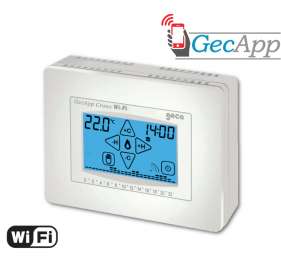 Crono-Thermostat GECAPP Wi-fi Use and installation instructions