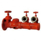Flanged discharge outlet fire hydrant connection for fire brigade truck pump UNI10779