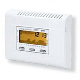 Lirico cronotermostato multiplacca da parete o semincasso for Geca unico termostato istruzioni