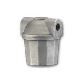 Filtri gasolio con vaschetta alluminio bassa capacità