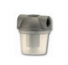 Diesel filters with opaque plastic bowl small capacity