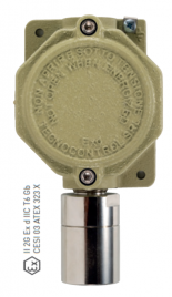 TS293 Industrial gas detector, with replaceable cartridge sensor ATEX certified for Zone 1