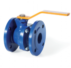 Flanged cast iron gas ball valve