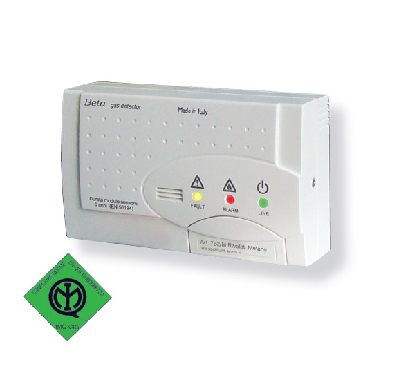 Residential gas detection