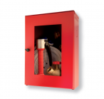 Small outdoor fire cabinet