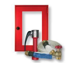 Wall hydrant with frame