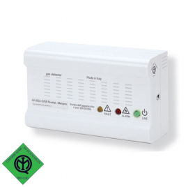 GAMMA SE230-SE233-SE296 Natural gas and LPG detector with acoustic alarm and output relay
