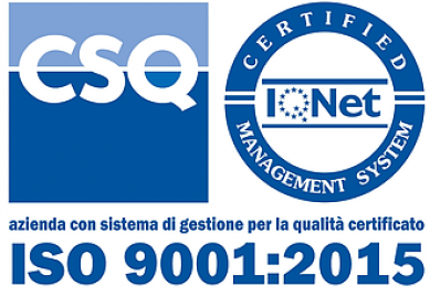 Geca srl - UNI EN ISO 9001:2015 - CSQ_IQNET