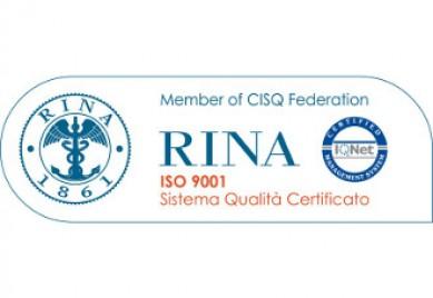 CPF Industriale srl - UNI EN ISO 9001:2015 - RINA_IQNet