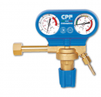 Pressure regulators for the use of industrial gases in cylinders