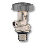 Co2 standard valve with cylindric connection 25P