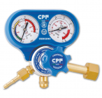 Single-stage pressure regulators for the use of industrial gases in cylinders (230-10Bar)