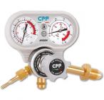 Pressure regulators with pressure-flow meter for Mig-Tig welding
