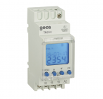 TM2-N Daily and weekly digital time switches with two differents electrical loads setting