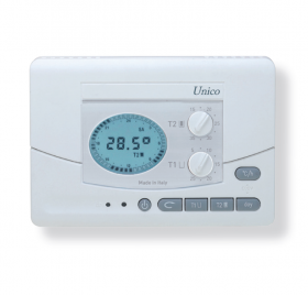 Istruzioni unico cronotermostato digitale da parete o for Geca unico termostato istruzioni