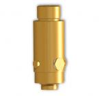 Valve for HFC23(FE13)-HFC125-HFC227-NOVEC1230-FM200 fixed extinguisher cabinet type