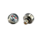 Stainless steel pressure gauge for water foam fire extinguisher