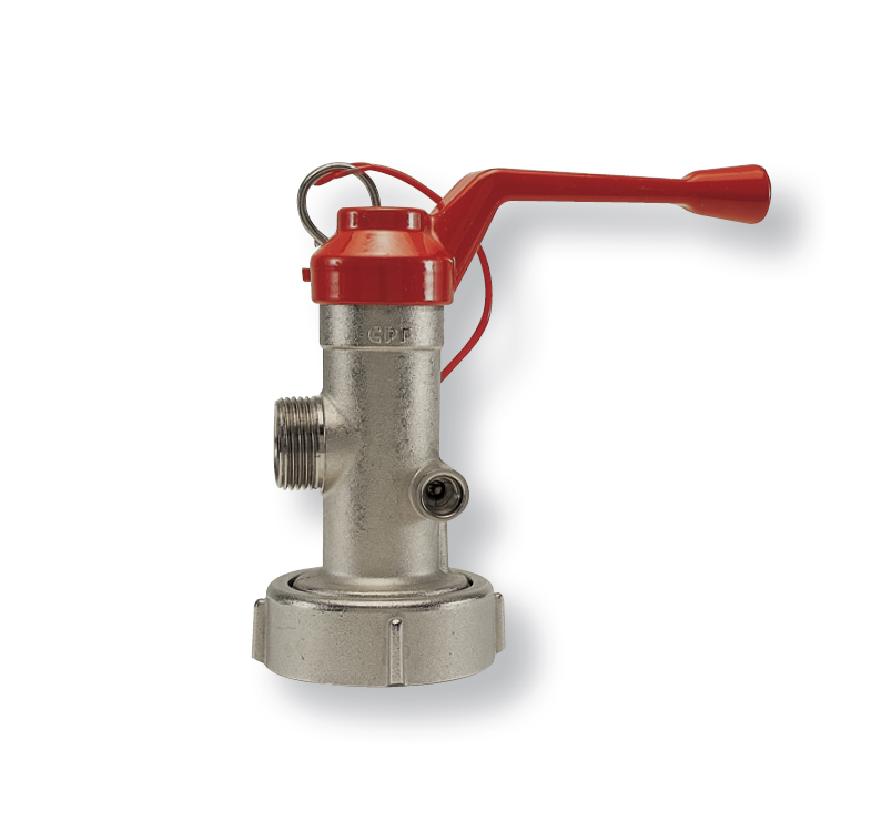 Quick-opening Valves for Wheeled fire Extinguishers
